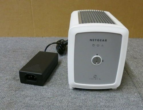Netgear SC101 Storage Central Fanless Silent With AC Power Adapter